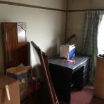 アパートの遺品整理をやらせて頂きました。
